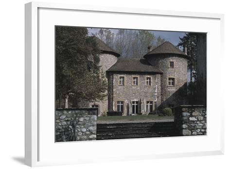 Chateau Bayard, 15th Century, Pontcharra, Rhone-Alpes, France--Framed Art Print