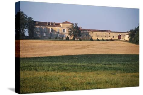 Chateau of Busca-Maniban, 17th Century, Midi-Pyrenees, France--Stretched Canvas Print
