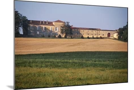 Chateau of Busca-Maniban, 17th Century, Midi-Pyrenees, France--Mounted Photographic Print