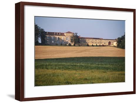 Chateau of Busca-Maniban, 17th Century, Midi-Pyrenees, France--Framed Art Print