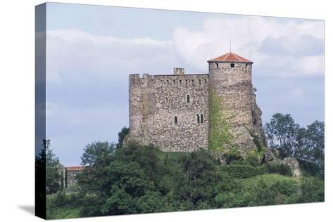 Chateau of Busseol, Founded in 12th Century, Auvergne, France--Stretched Canvas Print