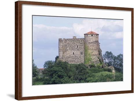 Chateau of Busseol, Founded in 12th Century, Auvergne, France--Framed Art Print