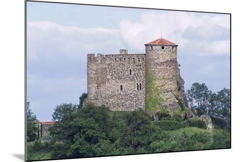 Chateau of Busseol, Founded in 12th Century, Auvergne, France--Mounted Photographic Print