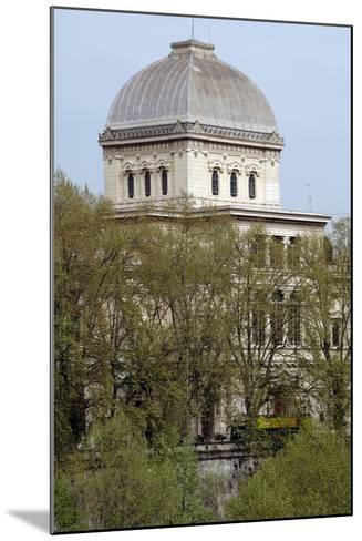 Italy, Rome, Great Synagogue of Rome, 1901-1904, Exterior--Mounted Photographic Print
