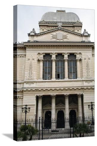 Italy, Rome, Great Synagogue of Rome, 1901-1904, Exterior--Stretched Canvas Print