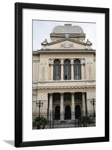 Italy, Rome, Great Synagogue of Rome, 1901-1904, Exterior--Framed Art Print