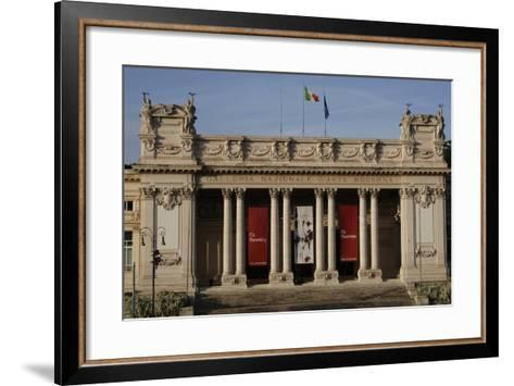 Italy, Rome, National Gallery of Modern Age, Exterior--Framed Art Print