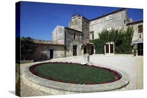Chateau of Terral, Saint Jean De Vedas, Languedoc-Roussillon, France--Stretched Canvas Print
