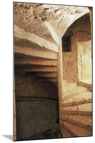 Spiral Staircase, Chateau of Flamarens, Midi-Pyrenees, France--Mounted Photographic Print