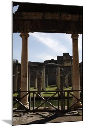 Hadrian's Villa, Maritime Theatre, 2nd Century, Italy--Mounted Photographic Print