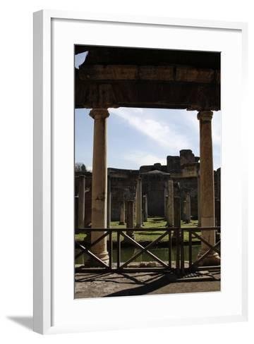 Hadrian's Villa, Maritime Theatre, 2nd Century, Italy--Framed Art Print
