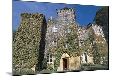 Low Angle View of a Castle, Castle of Faye, Poitou-Charentes, France--Mounted Photographic Print