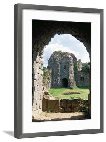 The Ruins of Chateau of Montcornet, Champagne-Ardenne, France--Framed Art Print