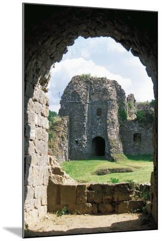 The Ruins of Chateau of Montcornet, Champagne-Ardenne, France--Mounted Photographic Print