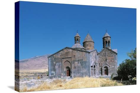 Saghmosavank Monastic Complex, 12th-13th Century, Armenia--Stretched Canvas Print