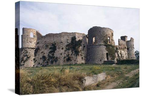 Aragonese Castle, 15th Century, Ortona, Abruzzo, Italy--Stretched Canvas Print