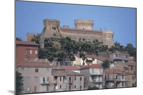 Buildings in a Town, Rocca Di Mondavio, Marches, Italy--Mounted Photographic Print