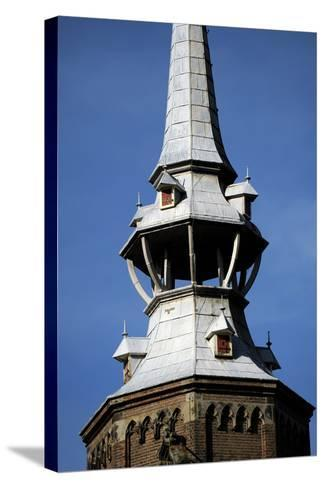 Netherlands, Utrecht, St, Catherine's Cathedral, Campanile, Detail--Stretched Canvas Print