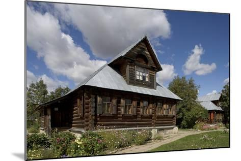 Wooden Houses, Traditional Buildings, Kideksa, Near Suzdal, Russia--Mounted Photographic Print