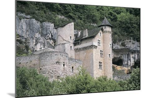 Low Angle View of a Castle, Larroque-Toirac, Midi-Pyrenees, France--Mounted Photographic Print