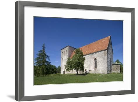 Poide Fortress-Church (13th-14th Century), Saaremaa Island, Estonia--Framed Art Print
