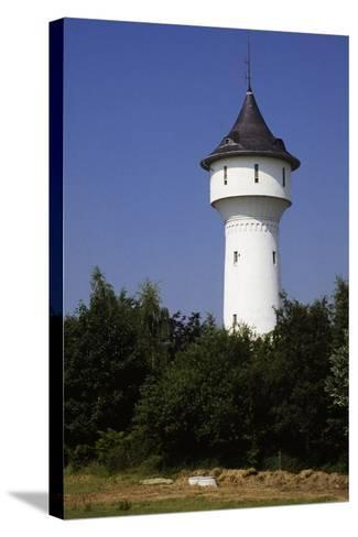 Water Tower in Wuppertal, North Rhine-Westphalia, Germany--Stretched Canvas Print