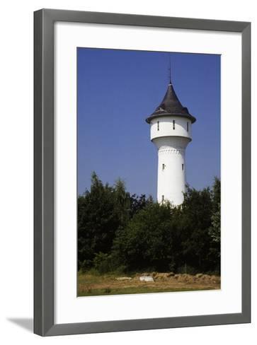 Water Tower in Wuppertal, North Rhine-Westphalia, Germany--Framed Art Print