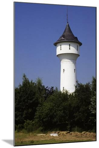 Water Tower in Wuppertal, North Rhine-Westphalia, Germany--Mounted Photographic Print