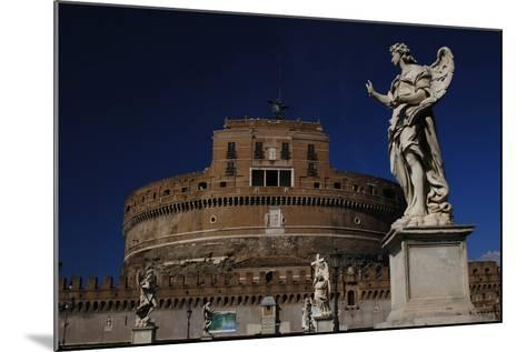 Mausoleum of Emperor Hadrian or Castle Sant'Angelo, Rome--Mounted Photographic Print