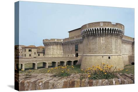 Della Rovere Medieval Castle, Senigallia, Marche, Italy--Stretched Canvas Print