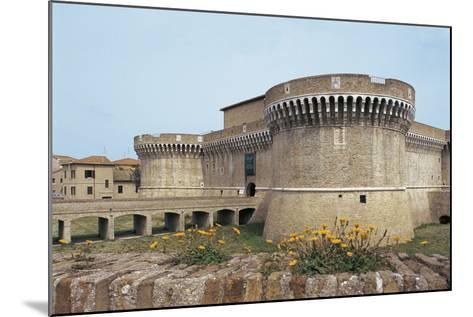 Della Rovere Medieval Castle, Senigallia, Marche, Italy--Mounted Photographic Print