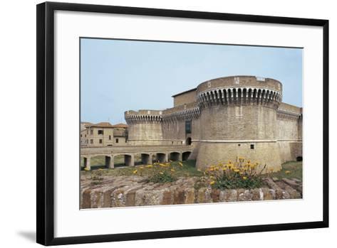 Della Rovere Medieval Castle, Senigallia, Marche, Italy--Framed Art Print