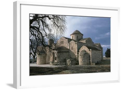 Byzantine Church of Angeloktisti, 11th Century, Kiti, Cyprus--Framed Art Print
