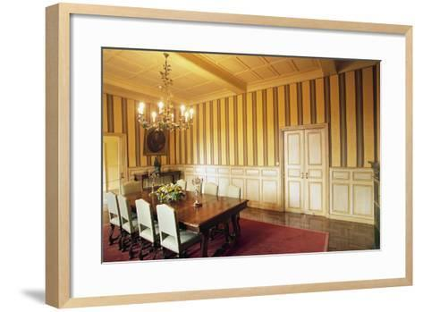 Room in Chateau of Marqueyssac, Vezac, Aquitaine, France--Framed Art Print