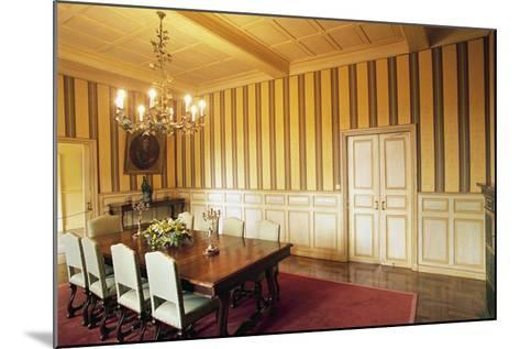 Room in Chateau of Marqueyssac, Vezac, Aquitaine, France--Mounted Photographic Print