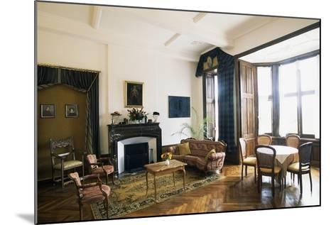 Room in Chateau of Raissac, Languedoc-Roussillon, France--Mounted Photographic Print