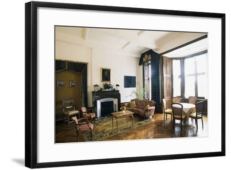 Room in Chateau of Raissac, Languedoc-Roussillon, France--Framed Art Print