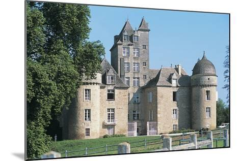 Lawn in Front of a Castle, Ayna, Midi-Pyrenees, France--Mounted Photographic Print