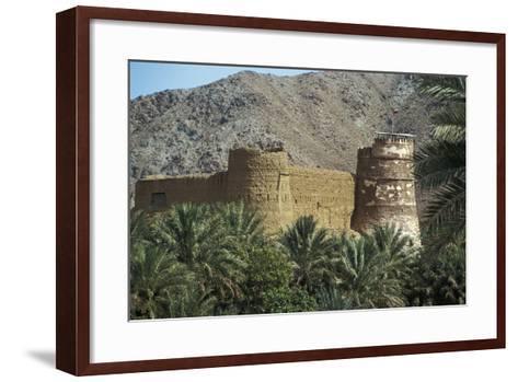 Al Bithnah Fort, 1735, Near Fujairah, United Arab Emirates--Framed Art Print