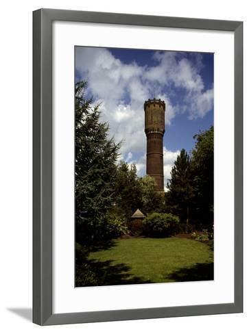 Water Tower of Krimpen Aan Den Lek (1909), the Netherlands--Framed Art Print