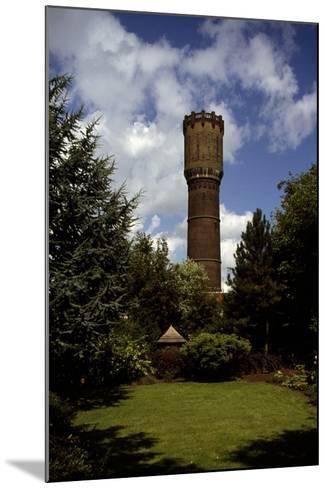 Water Tower of Krimpen Aan Den Lek (1909), the Netherlands--Mounted Photographic Print