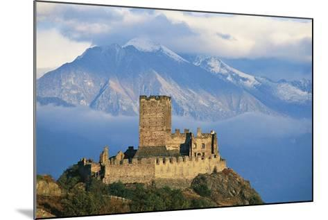 Cly Castle, 13th Century, Saint-Denis, Aosta Valley, Italy--Mounted Photographic Print