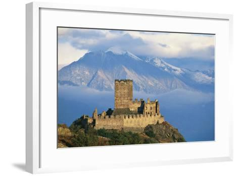 Cly Castle, 13th Century, Saint-Denis, Aosta Valley, Italy--Framed Art Print