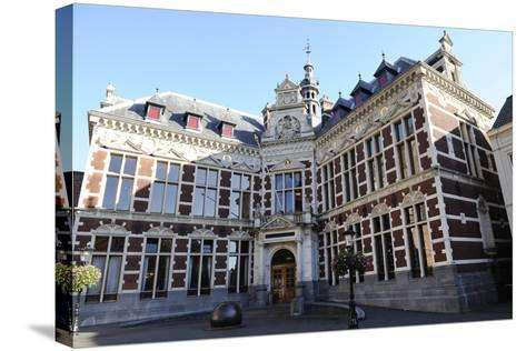 Netherlands. Utrecht. Old Building of the University. Academiegebouw--Stretched Canvas Print
