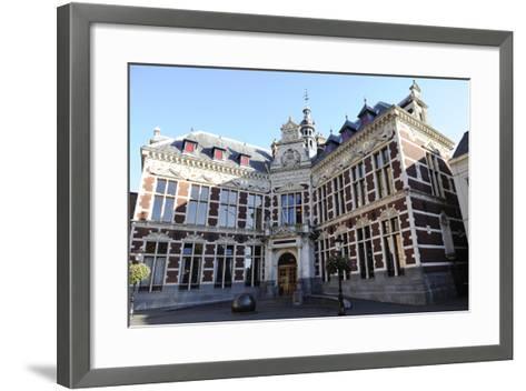 Netherlands. Utrecht. Old Building of the University. Academiegebouw--Framed Art Print