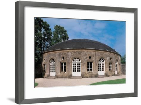 Facade of a Castle, Bazeilles Castle, Champagne-Ardenne, France--Framed Art Print