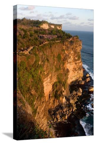 Cliffs Next to the Ulu Watu Temple Pura Luhur, Bali--Stretched Canvas Print