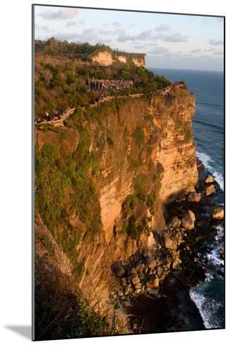 Cliffs Next to the Ulu Watu Temple Pura Luhur, Bali--Mounted Photographic Print