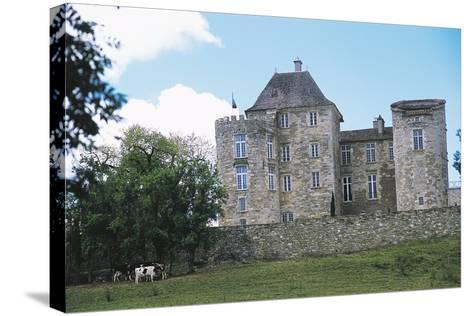 Chateau of Saint Projet, Midi-Pyrenees, France--Stretched Canvas Print