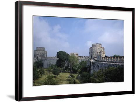 Yedikule Fortress, 15th Century, Istanbul--Framed Art Print